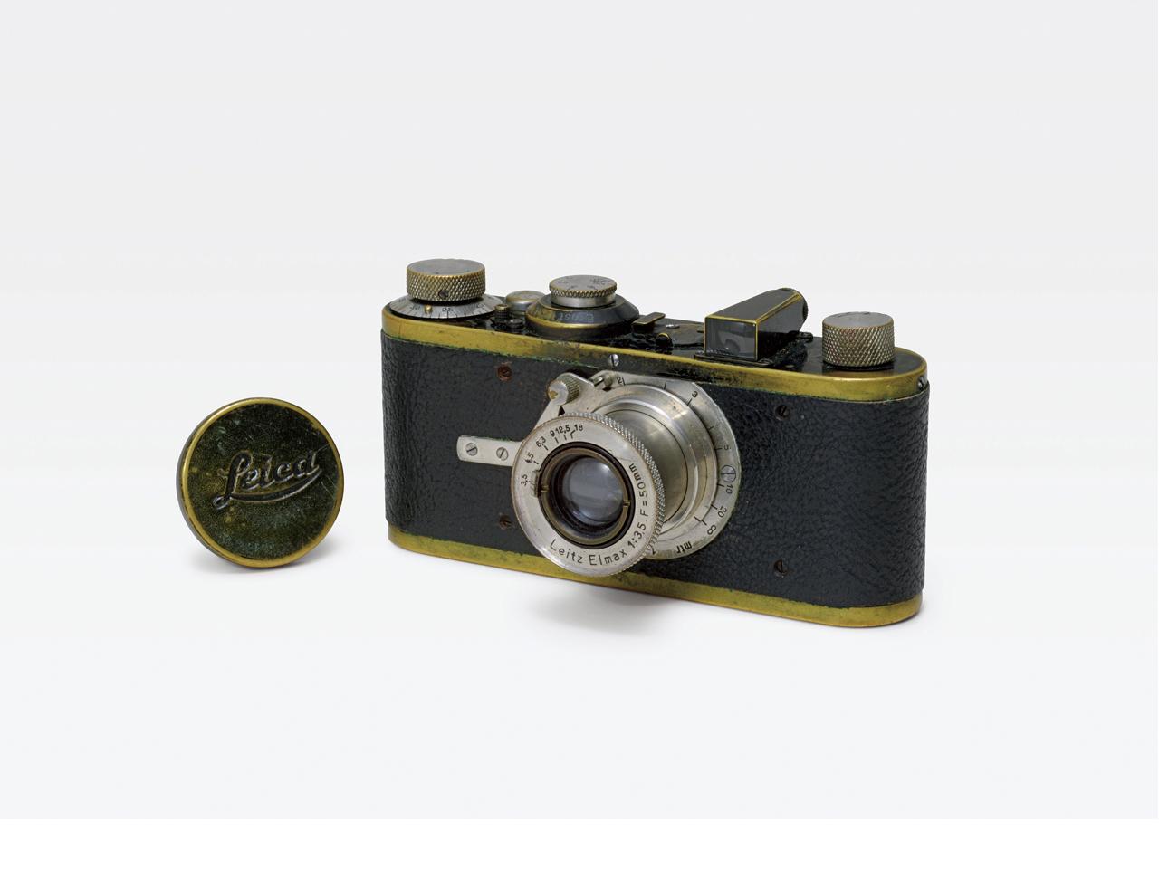 Lot.772 Leica Ⅰ(A) H6.6×W13.3×D4.2cm レンズ:エルマックス 50mm F3.5 シリアルナンバー284 落札予想価格¥2,000,000.~¥3,000,000.
